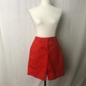 Nike Golf Dri fit Women's shorts  Red